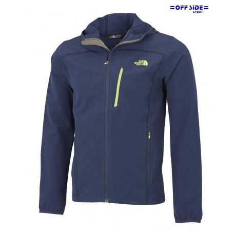 NORTH FACE M FULL ZIP HDY BLUE LIME