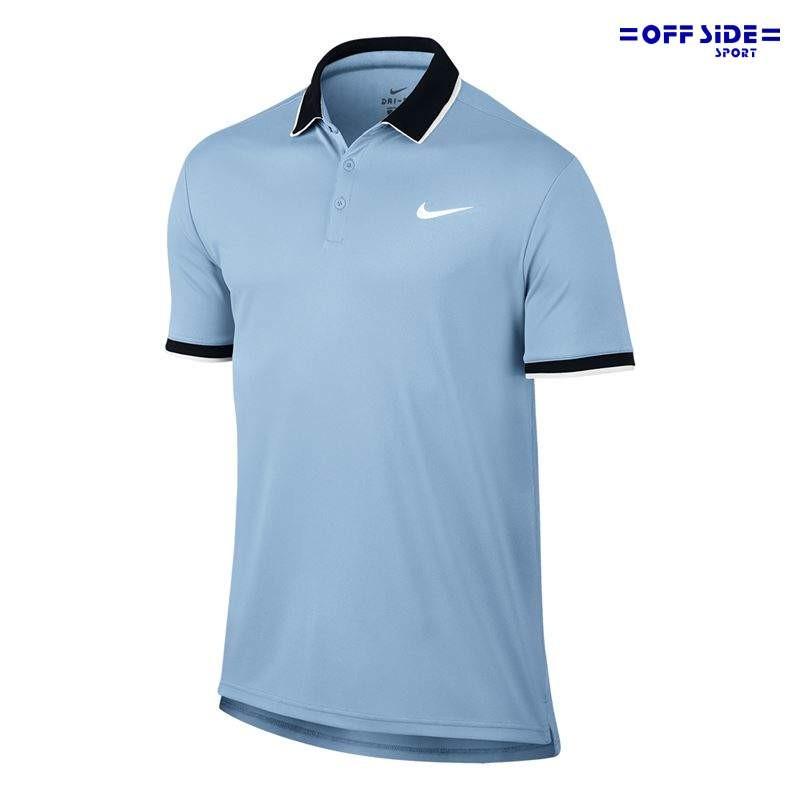 87a3cf956b57 Nike Court Dry polo tennis 830849- 466 - Offside Sport Faenza