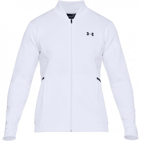 UNDER ARMOUR Forge Warm Up Top bianco