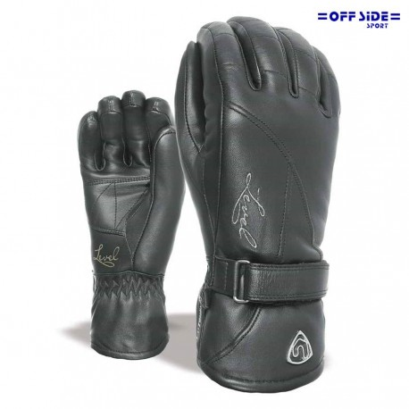LEVEL GLOVES CLASSIC W PELLE NERO