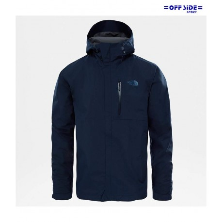 NORTH FACE M DRYZZLE JACKET BLU GORE TEX