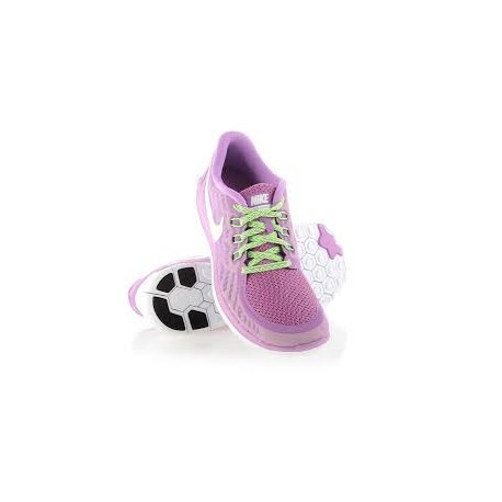 NIKE scarpa FREE 5.0 GS  ROSA 725114-500