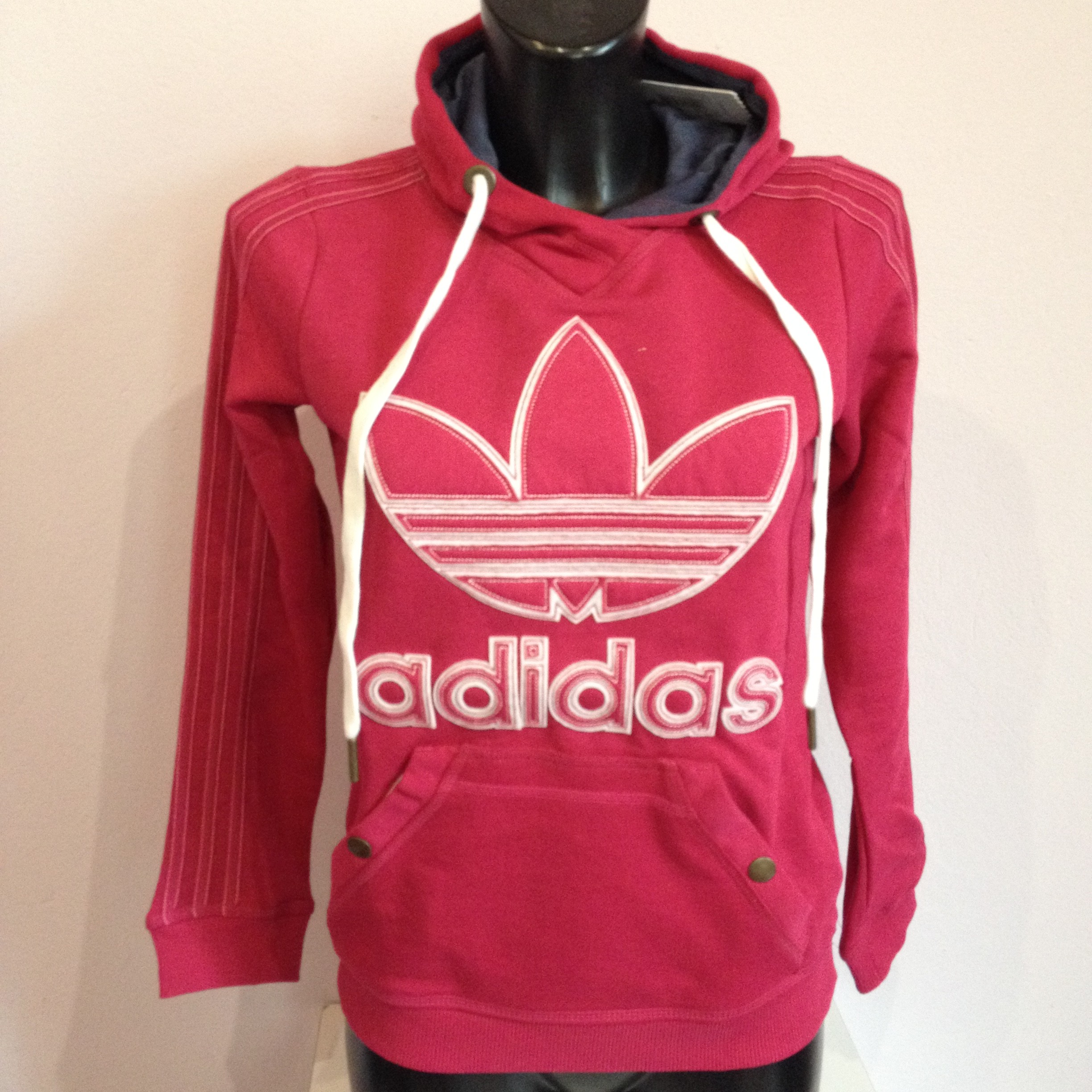 the latest d9b10 b0927 felpa adidas donna rossa