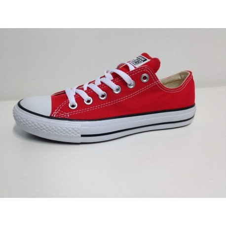 CONVERSE ALL STAR OX RED BASSA ROSSA