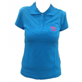 ADIDAS POLO DONNA ADI BASIC BLUETTE