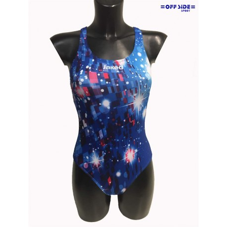 JAKED costume piscina donna UNIVERSE BLE