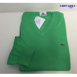LACOSTE  PULLOVER AH0402 F9A CHLORE