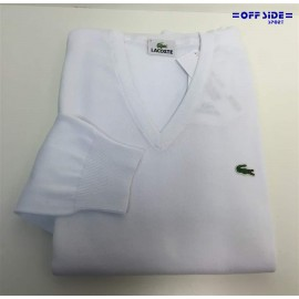 LACOSTE  PULLOVER AH0402 001 BLANC
