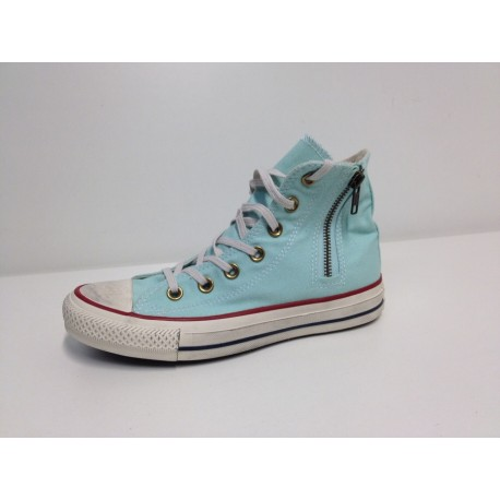 ALL STAR  HI SIDE ZIP col AZZURRA