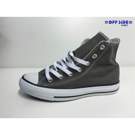 CONVERSE ALL STAR HI CHARCOAL ALTA TELA