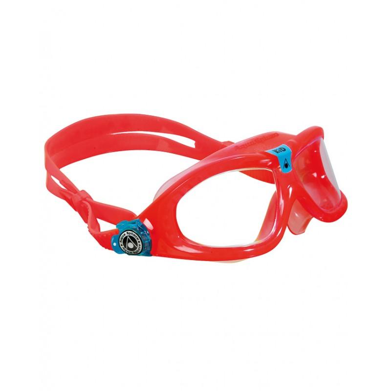 118099936167 AQUA SPHERE SEAL KID2 MS162 RED - Offside Sport Faenza