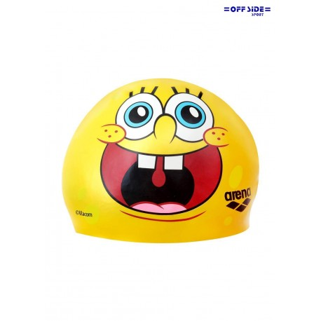 ARENA SPONGEBOB silicon cap 1E287 yellow