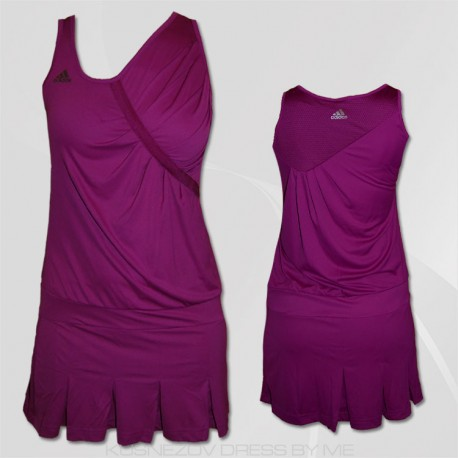 ADIDAS ABITO W AD DRESS ANA  VIOLA