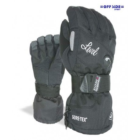 LEVEL GLOVE HALP PIPE GORE-TEX NERO DONA