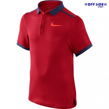 NIKE polo tennis bambino 724435-657