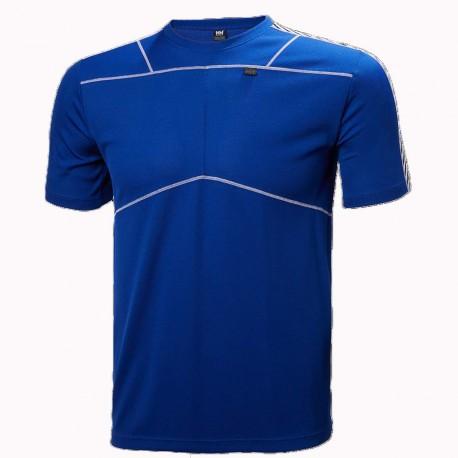 H-H  maglia m/m LIFA  uomo 48304 563 blu