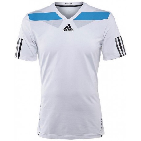 ADIDAS T-SHIRT BARR SEMI FIT BIANCA