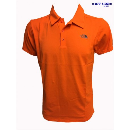 NORTH FACE POLO UOMO M TECH POLO ARANCIO